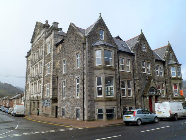 Grade II* listed Park and Dare Workmen's Institute, Treorchy