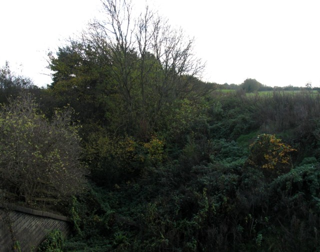 Former Great Central railway towards London