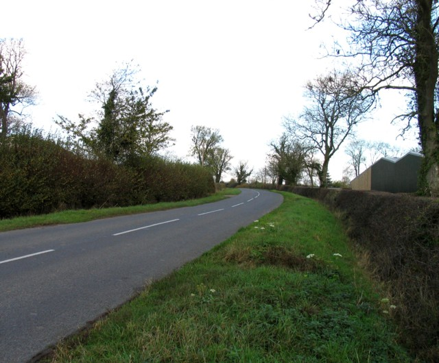 Lutterworth Road towards Gilmorton