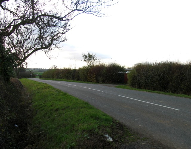 Towards junction of Lutterworth Road with Lutterworth Road