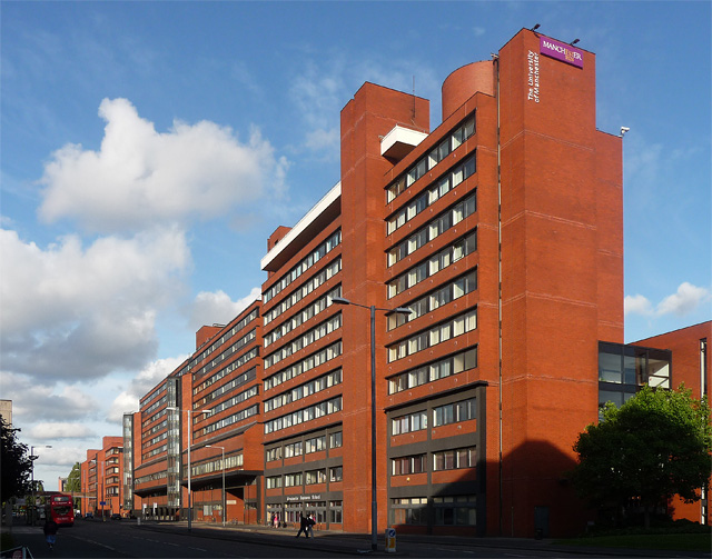 Manchester Business School and Precinct Centre, Booth Street West, Manchester
