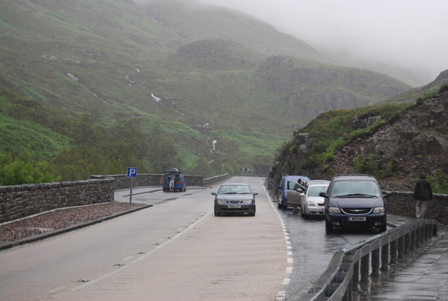 A82, head of Glencoe