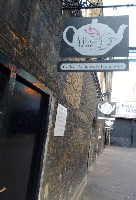 The Tea Rooms, Brick Lane E1