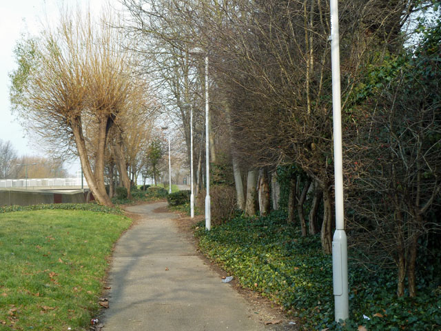 Path by the A2