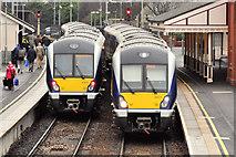 J4791 : New trains, Whitehead by Albert Bridge