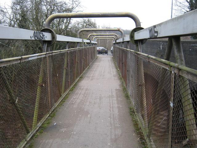 Footbridge, Wylde Green Road