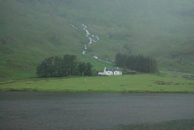View across Loch Achtriochtan