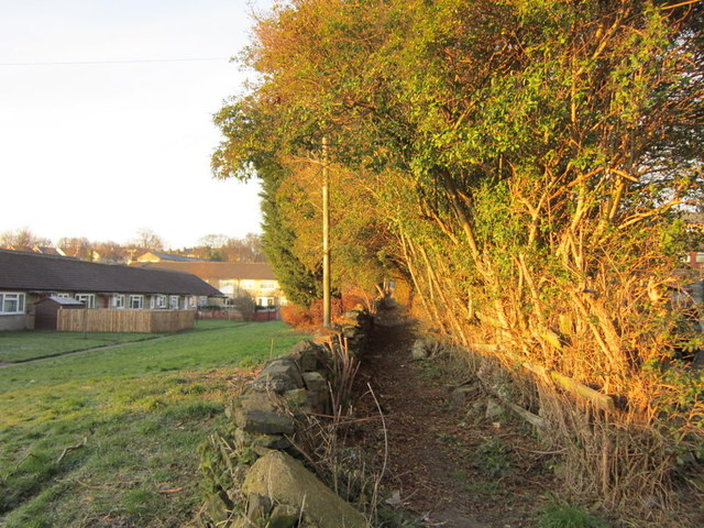 A path off New Street, Pudsey