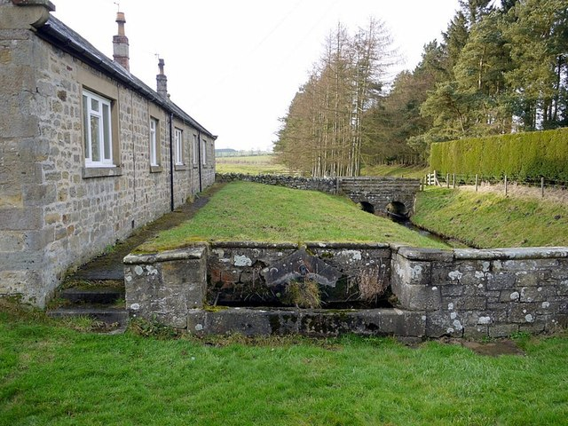 Water trough at west end of Matfen village