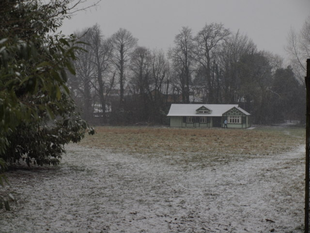 Snowy Pavilion at Talygarn