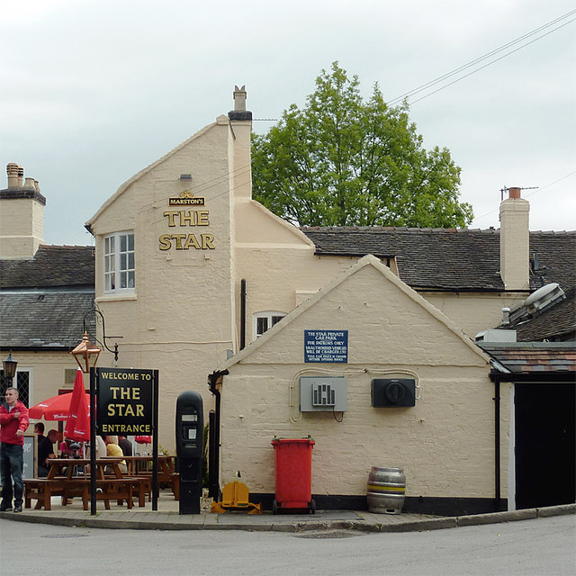 The Star at Stone, Staffordshire