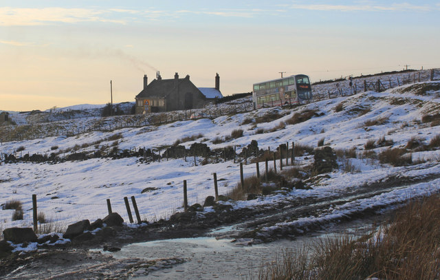 Standedge in winter