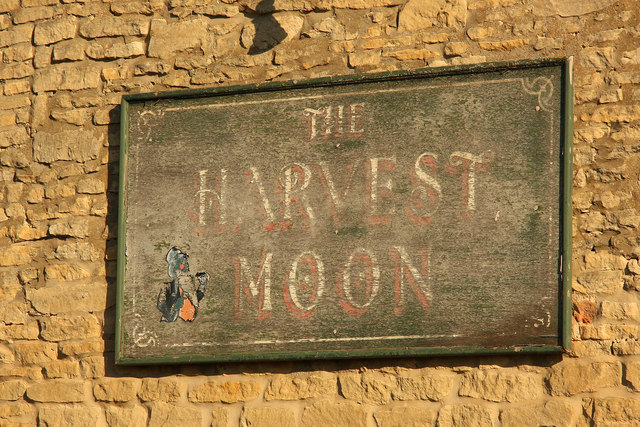 The sign of The Harvest Moon