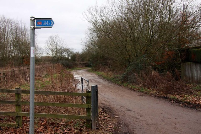 Cycleway 51 to Bletchingdon