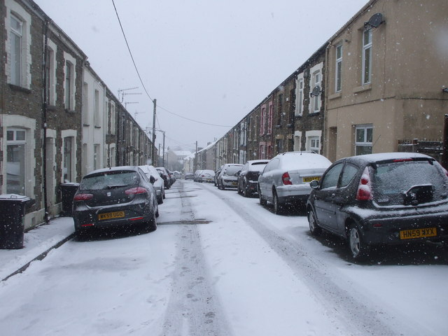 Station Terrace, Dowlais Top