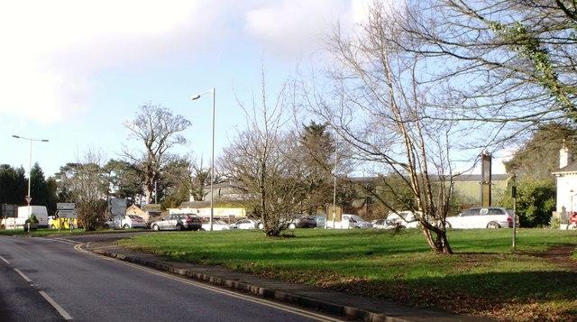 Traffic jam on A265 east of Heathfield