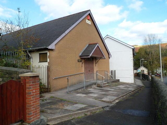 Salem Newydd chapel, Llwynypia