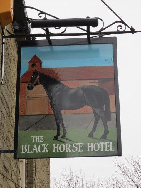 The Black Horse Hotel, Low Moor