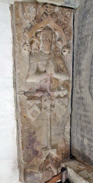 Tomb Slab, Kingerby church