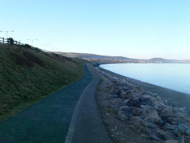 All Wales Coast Path near Old Colwyn