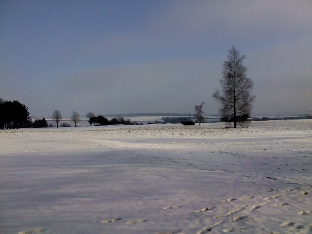 Marlborough Common in the snow