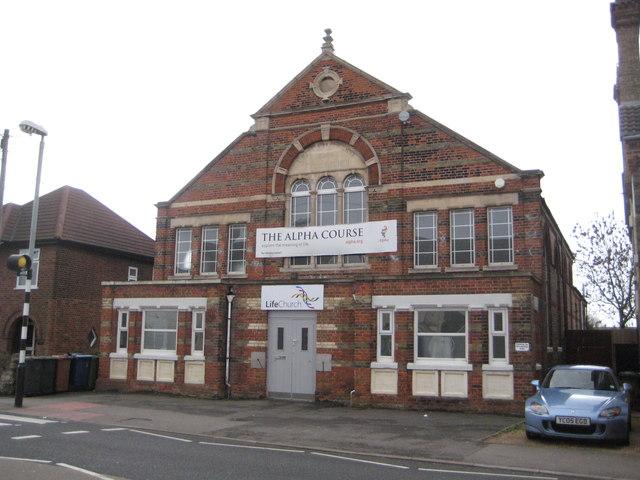 Fletton: Life Church, formerly the United Methodist Free Church