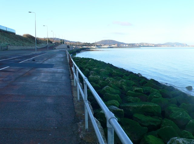 The promenade at Old Colwyn