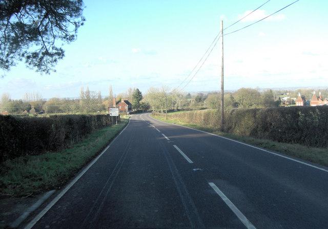 A274 south of Lashenden