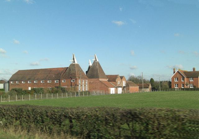 Lashenden Farm buildings
