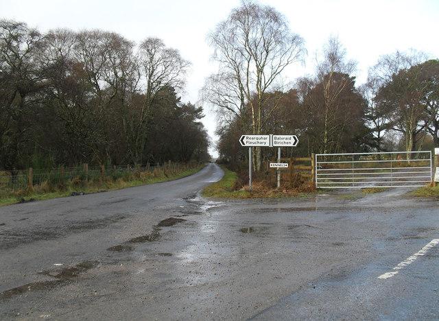 Junction at Birichen
