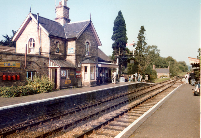 Highley Station September 1985