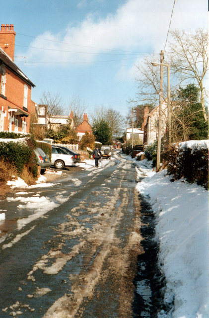 Marlbrook Lickey Rock 1995 in The Snow