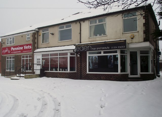Shops on Longsight, Harwood
