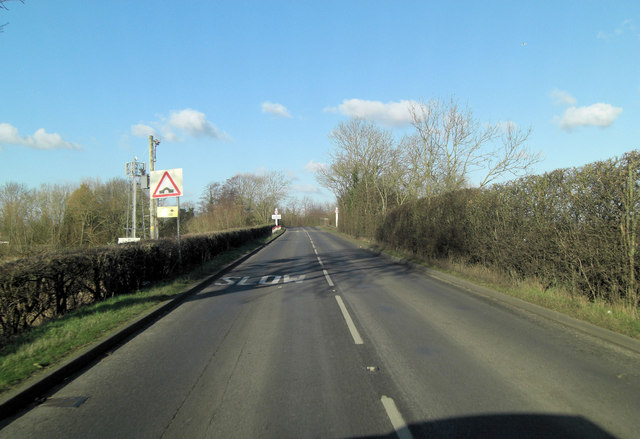 A274 approaches outskirts of Headcorn