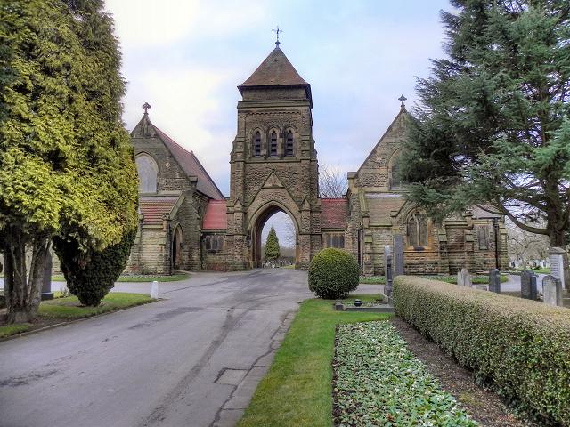 The Chapel at Urmston Cemetery