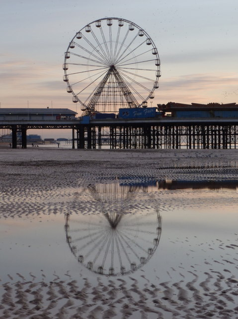 Blackpool: big wheel on Central Pier