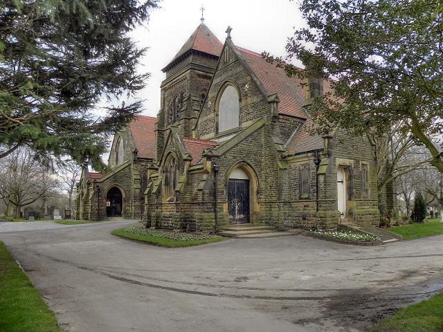 Urmston Cemetery Chapel