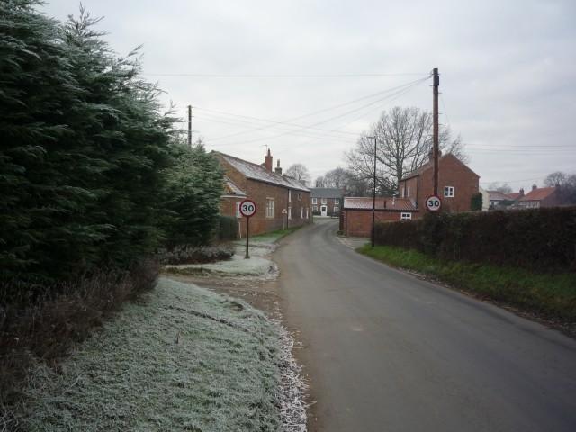 Entering Appleton Roebuck