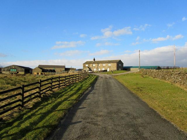 Access Drive to Kexgill Farm