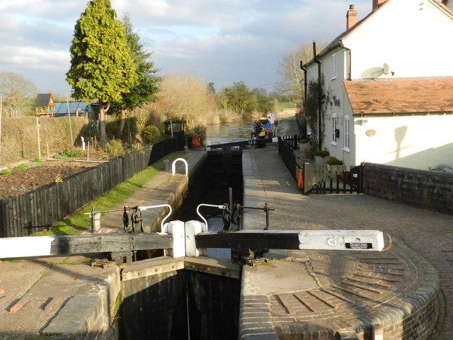 Lock number 18, Worcester & Birmingham Canal