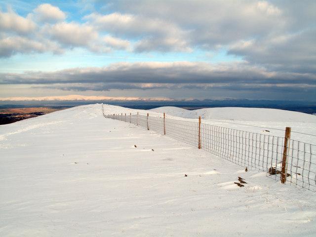 North-east ridge of Harter Fell