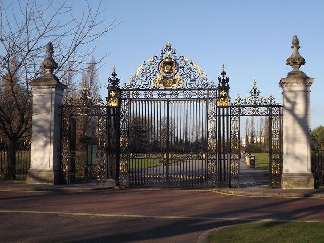 Queen Mary's Garden Gates