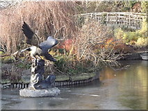 TQ2882 : Eagle Sculpture by Colin Smith