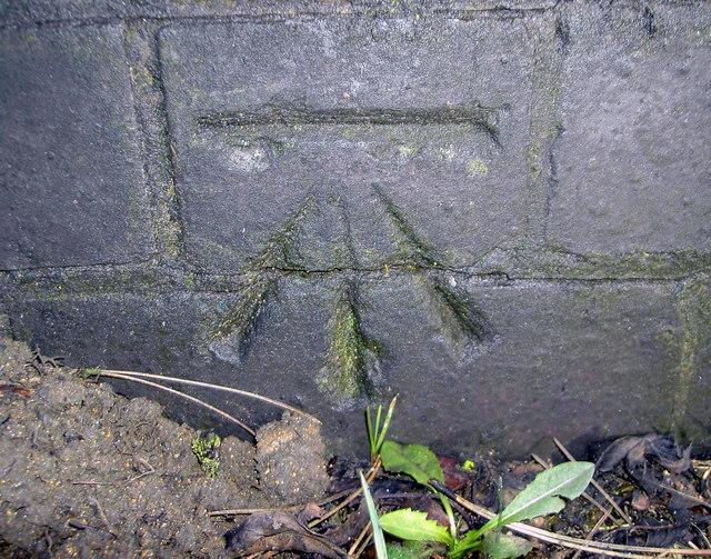 Benchmark on Thorpe Bridge (A607)