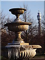 TQ2882 : Icy Fountain, Avenue Gardens by Colin Smith