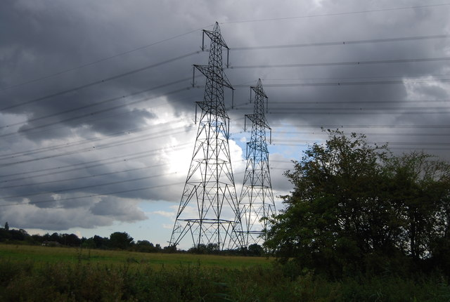 A pair of pylons