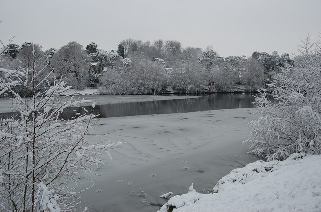 Snow at Buckshole Reservoir
