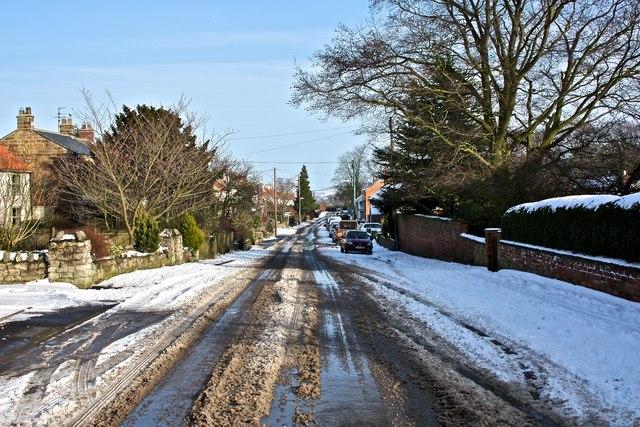 Melting Snow, East Harlsey