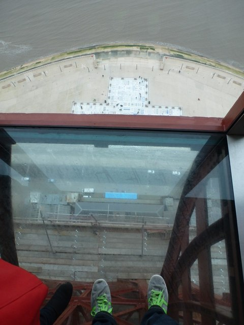 Blackpool: looking down from the Tower