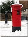 TQ2988 : Victorian pillar box, Crouch End by Julian Osley
